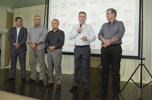 Confraternização do Ciesp Sorocaba reúne centenas de empresários e autoridades da região